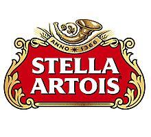 Stella Artois Photographic Print