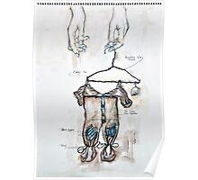 Primitive onesie Poster