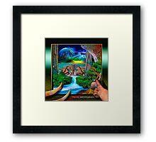 Omens & Elephants Framed Print