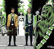 Grace Park and Katee Sackhoff in Star Wars (SDCC 2014) by shoshgoodman