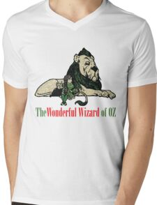 The Wonderful Wizard of OZ Characters Mens V-Neck T-Shirt