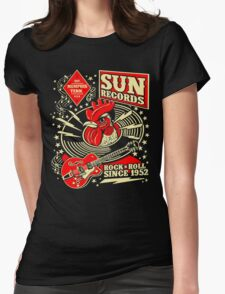 Sun Records : Rock N' Roll Since 1952 Womens Fitted T-Shirt