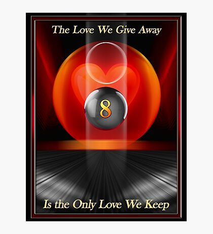 Love Away Photographic Print