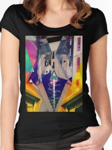 Denaturalized Women's Fitted Scoop T-Shirt