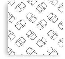 Architect - Black Canvas Print