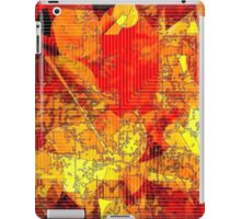 Hot Random Abstract Shapes: Maps & Apps Series iPad Case/Skin