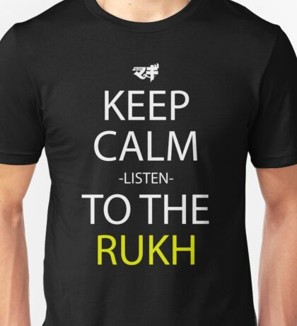 Keep Calm And Listen To The Rukh Anime Manga Shirt Unisex T-Shirt