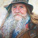 Portrait of Graeme by Lynda Robinson