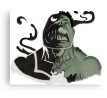 Hulk Symbiote  Canvas Print