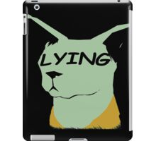 "lying cat- saga comic ""lying"" iPad Case/Skin"