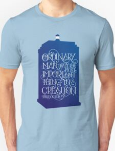 Ordinary Man - Blue Box Unisex T-Shirt