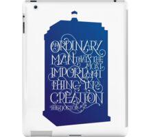 Ordinary Man - Blue Box iPad Case/Skin