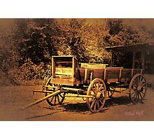 """Just Like in the Old Western Movies""... prints and products Photographic Print"