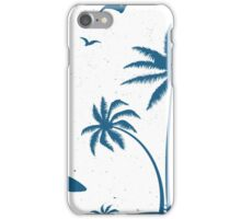 Beautiful Surfer Boy on the beach at sunset iPhone Case/Skin