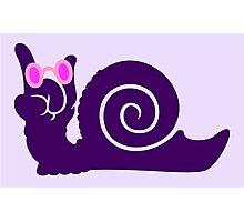 funky snail VRS2 Photographic Print