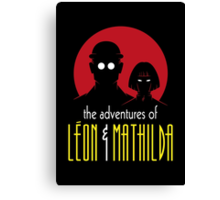 The Adventures of Leon & Mathilda Canvas Print