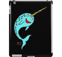 Silly Narwhal iPad Case/Skin
