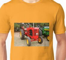 Old red tractor Unisex T-Shirt