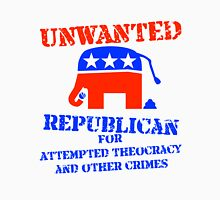 Wanted Notice: Republicans for Crimes Against Liberty Unisex T-Shirt