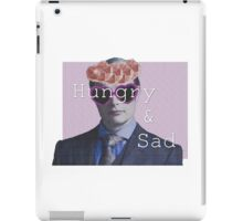Hungry And Sad  iPad Case/Skin