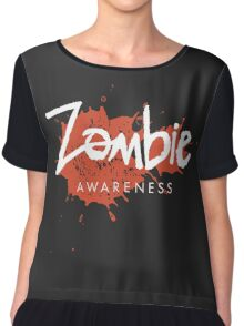 Zombie Awareness Chiffon Top