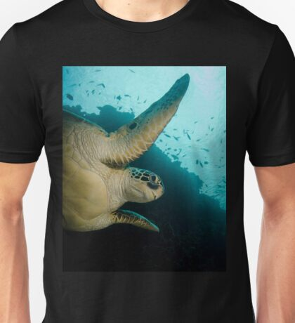 A Green Turtle In Indonesia Unisex T-Shirt