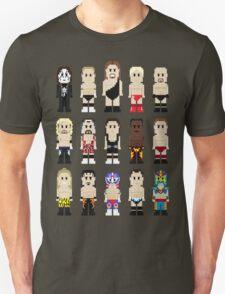 8-Bit Wrestlers Down South Unisex T-Shirt