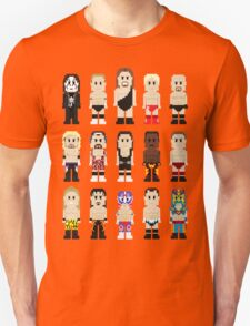 8-Bit Wrestlers Down South Unisex T-Shirt