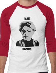 Matt Damon Men's Baseball ¾ T-Shirt