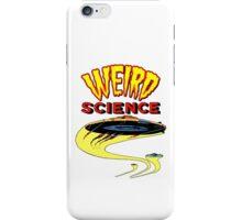 Weird Science UFO scifi vintage iPhone Case/Skin