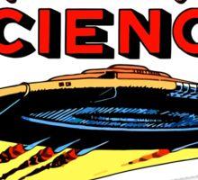 Weird Science UFO scifi vintage Sticker
