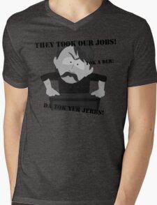 They Took Our Jobs Mens V-Neck T-Shirt
