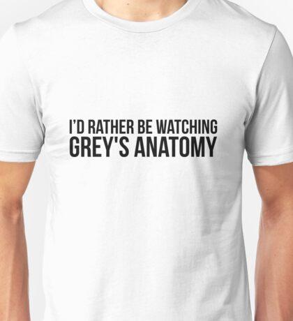 Grey Anatomy Unisex T-Shirt
