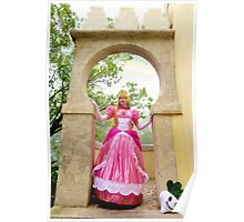 Princess Peach Cosplay Poster