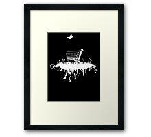 Abandoned Trolley Framed Print