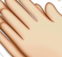 Clap Emoji Journals, Bags, Stickers Sticker