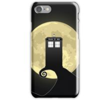Nightmare Before A Tardis iPhone Case/Skin