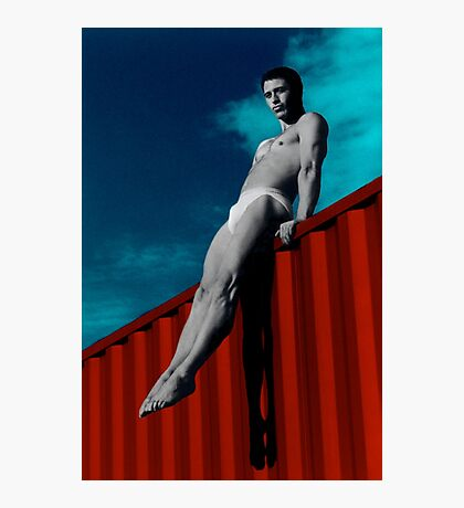 Alain 01 Photographic Print