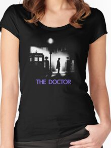 The 11th Doctor meets a new enemy. Women's Fitted Scoop T-Shirt
