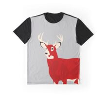 Red Deer Graphic T-Shirt