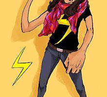 Ms. Marvel by krusca