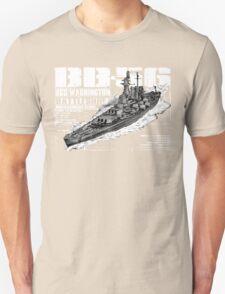USS Washington (BB-56) Unisex T-Shirt