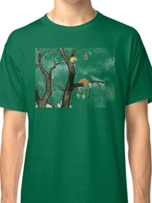 Calvin And Hobbes : I'll Help You Hob Classic T-Shirt