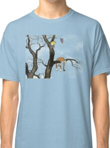 Calvin And Hobbes : I'll Help You Hob Classic T-Shirt