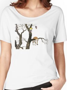 Calvin And Hobbes : I'll Help You Hob Women's Relaxed Fit T-Shirt
