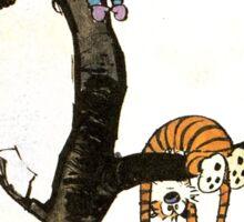Calvin And Hobbes : I'll Help You Hob Sticker