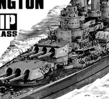 USS Washington (BB-56) Sticker