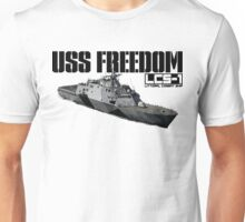 USS Freedom (LCS-1) Unisex T-Shirt
