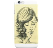 Nodding off to Sleep iPhone Case/Skin