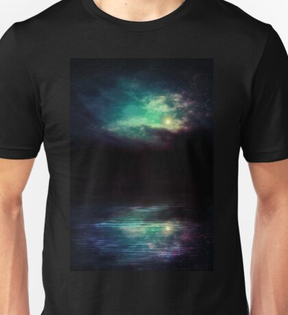Night Sky and River 2 Unisex T-Shirt
